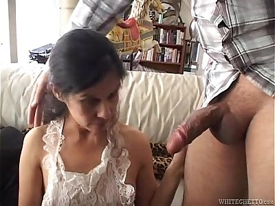 Hot mature latina maid