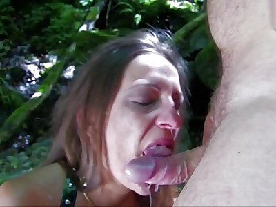 Beautiful milf is fucked in the ass