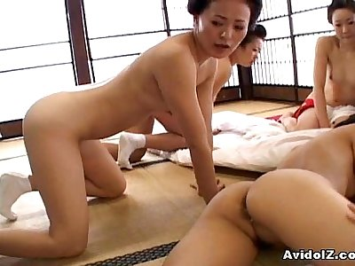 Japaneses with big boobs and tits fucked uncensored japanese video