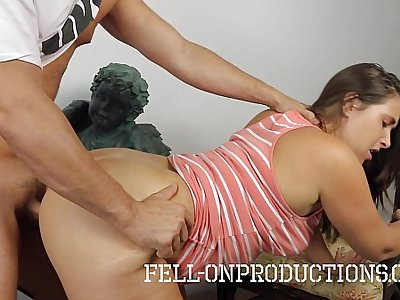 MILF Fucks Stepson in Fucking in the Therapist Office